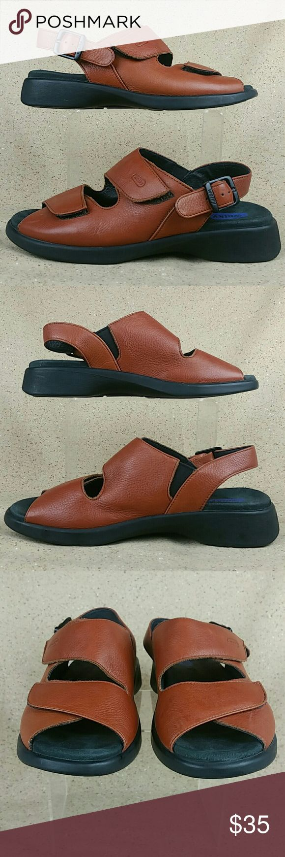 Wolky 617 Nines Slingback Sandals W 7 EU 38 These sandals are pre-owned in excellent condition. Gentle wear on the outside from use. Little to no wear to the bottoms. Look over the pictures carefully before purchasing . Wolky Shoes Sandals