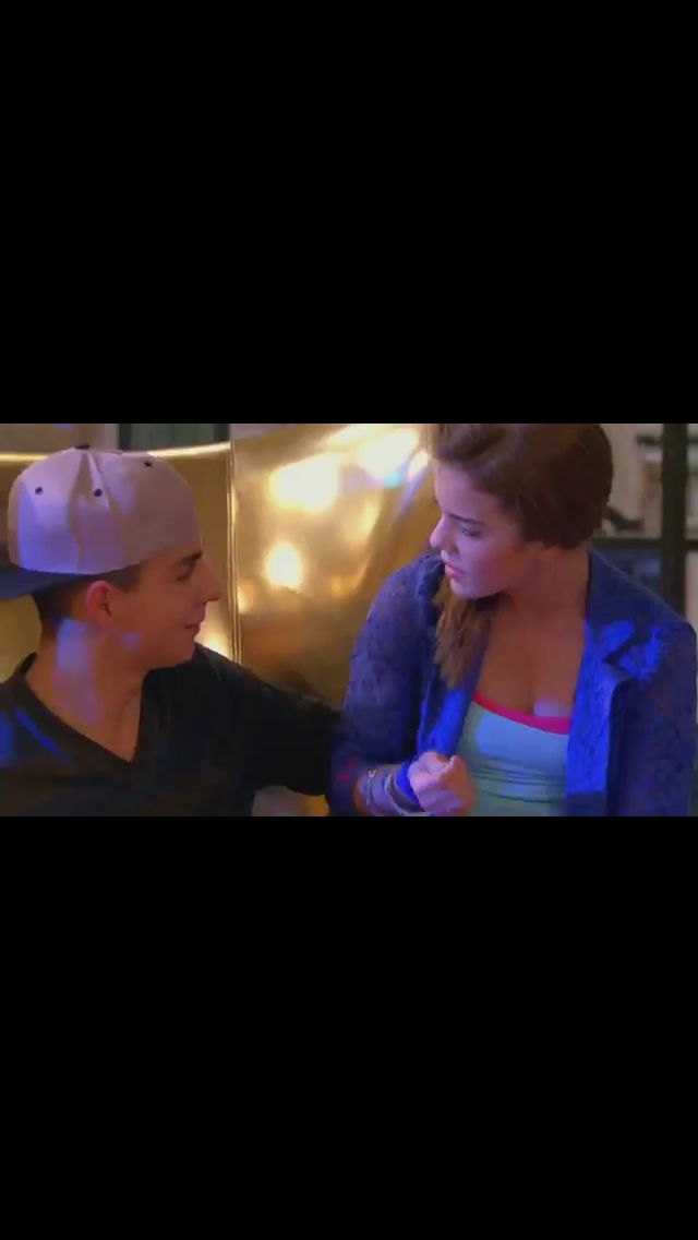 Riley and James from the next step! Jiley all the way!!