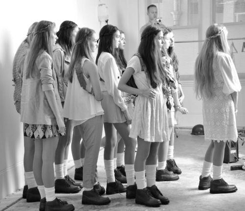 : Models, Clogs, Style, Dresses Boots, Pastel Dresses, Schools, Posts, Fashion Blog, Princesses