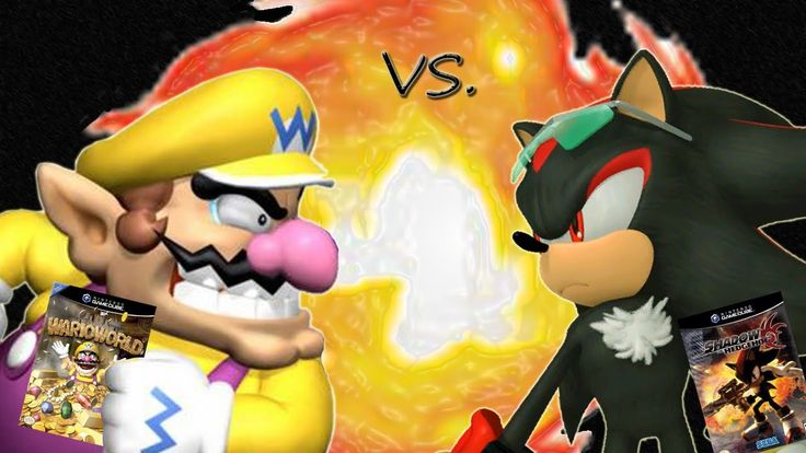 Mario and Sonic The Hedgehog are taking a little break. This time it's a battle of the anti-hero rivals! SEGA's Shadow the Hedgehog vs Nintendo's Wario World.