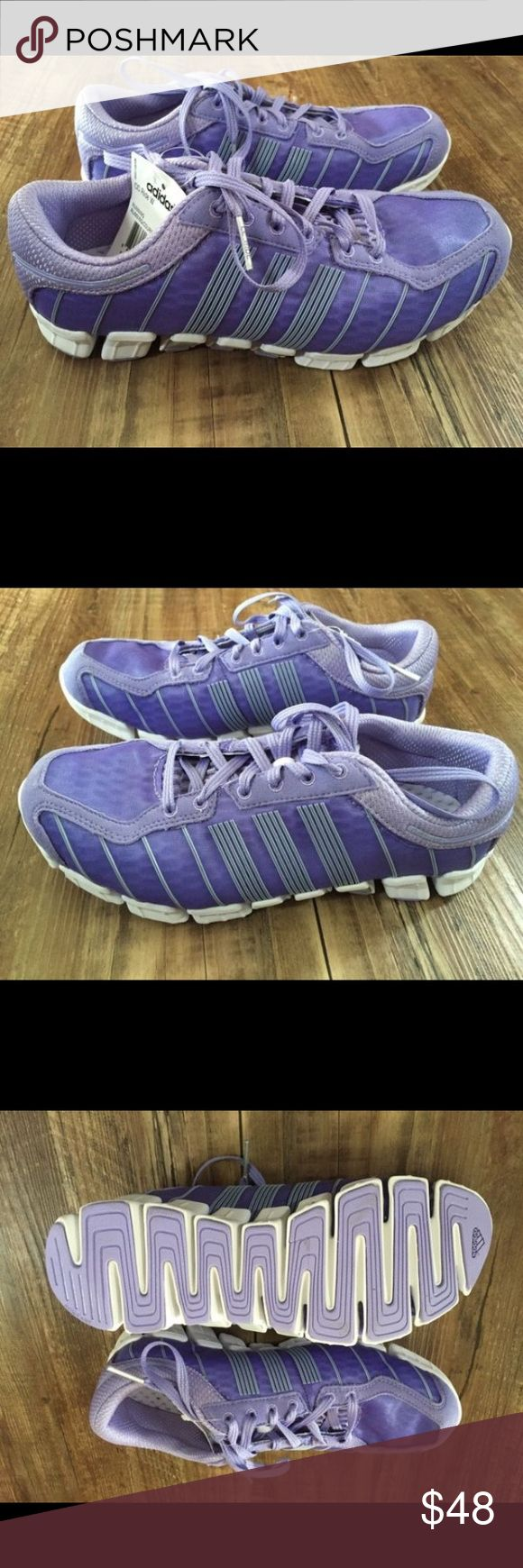 """Brand New Adidas Running Shoes Adidas Climacool Running Shoes, these are brand new with tags!    Features: •Climacool •Rubber sole •Minimalist upper lets air flow from all angles •SoftTech outsole and flexible midsole for comfort, and visual seaming that screams """"fast"""". Adidas Shoes Athletic Shoes"""