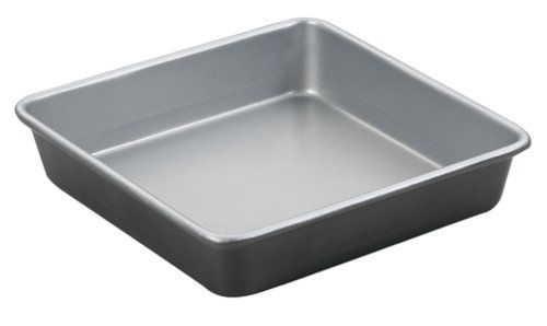 Cuisinart AMB-9SCK 9-Inch Chefs Classic Nonstick Bakeware Square Cake Pan, Silver >>> See this great image @ : Baking pans