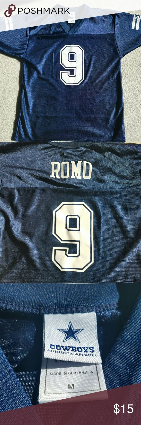 Romo Dallas Cowboys Jersey Tony Romo Jersey  Comes from a smoke free and pet free home. Tops Tees - Short Sleeve