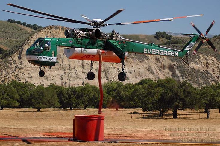 Sky Crane Helicopters of the US Army 1st Cavalry in