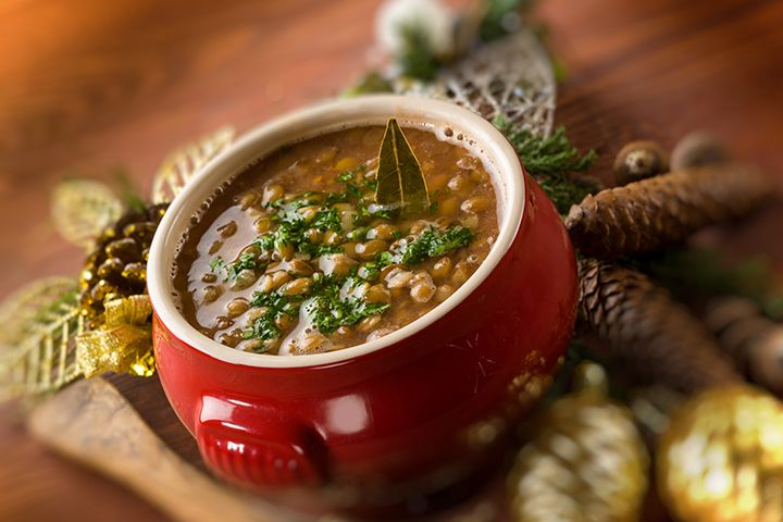 Lentil Veggie Soup: This soup is packed with low glycemic veggies, which can hel...