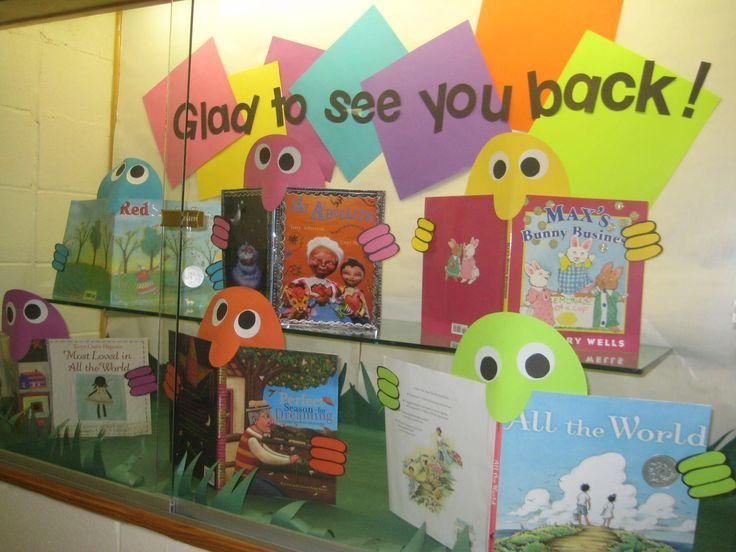 back to school library bulletin board - Google Search