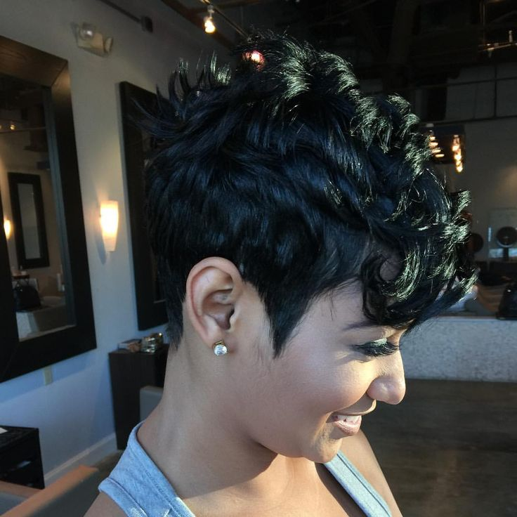 """593 Likes, 5 Comments - Patrice hector (@patricehector) on Instagram: """"Day 14 Dark & Lovely Short & Cute #idratherrockshorthair #patricehector #iamtheultimatestylist…"""""""