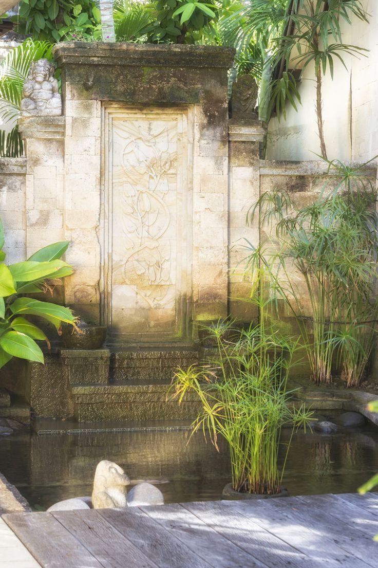 Villa 2 fishpond at Villa Kubu, Seminyak, Bali