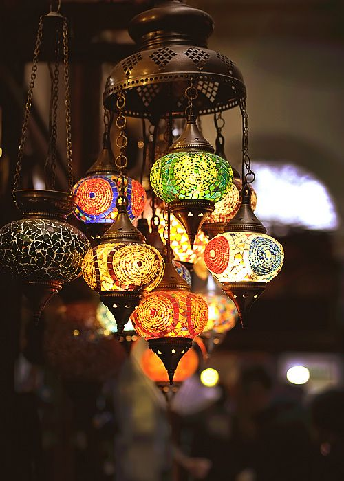I would love a room decorated around this lamp :)