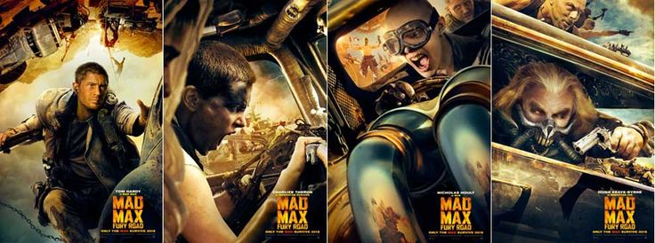 mad max official posters - Google Search