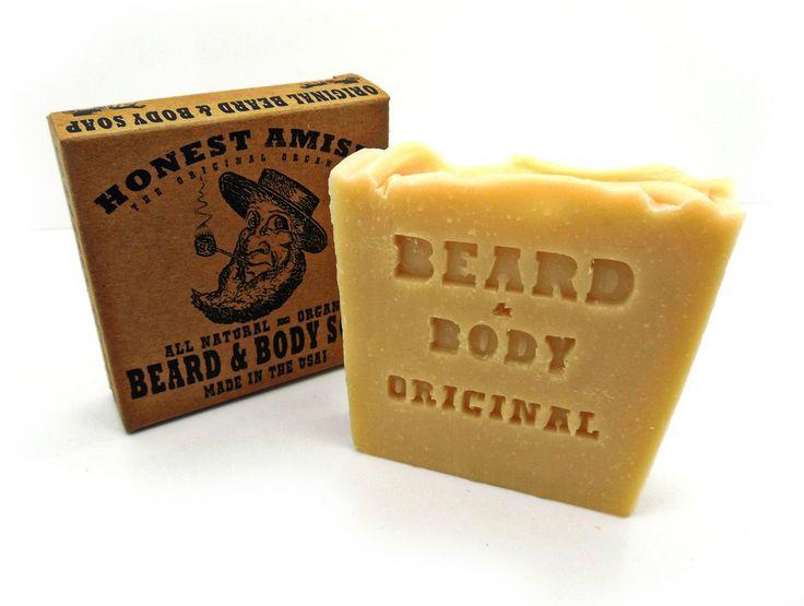 Honest Amish Beard & Body Soap (Original)