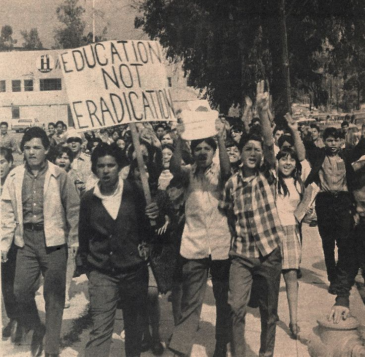 """""""We Dare to Care About Education"""" Chicano, Chicano"""