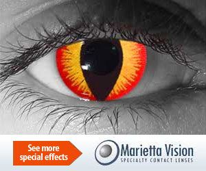Halloween Contact Lenses and Other Special-Effect Contacts