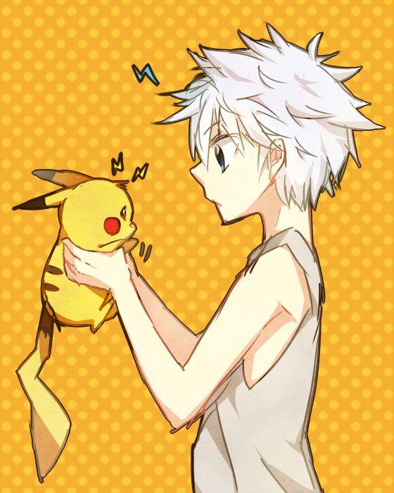 Hunter x Hunter: Killua Pokemon: Pikachu
