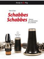 GODEN P. - SCHABBES SCHABBES Klezmer for 3 clarinets - € 12,50 Klarinet wereldmuziek, 3 Klarinetten, BARENREITER BA10635