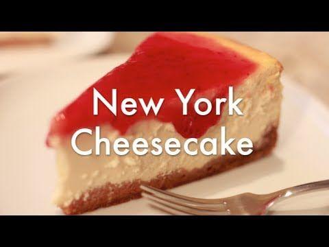 Tarta de Queso al Horno - New York Cheesecake - Receta resumida - YouTube