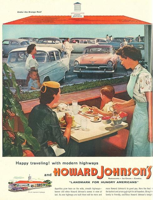 Howard Johnson's Ad 1955