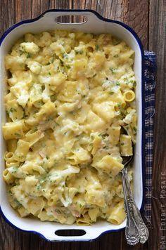Mac and Cheese with Cauliflower and Tuna | An Edible Mosaic