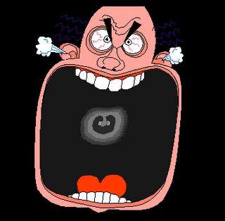 Gambar DP BBM Marah Emosi Bergerak