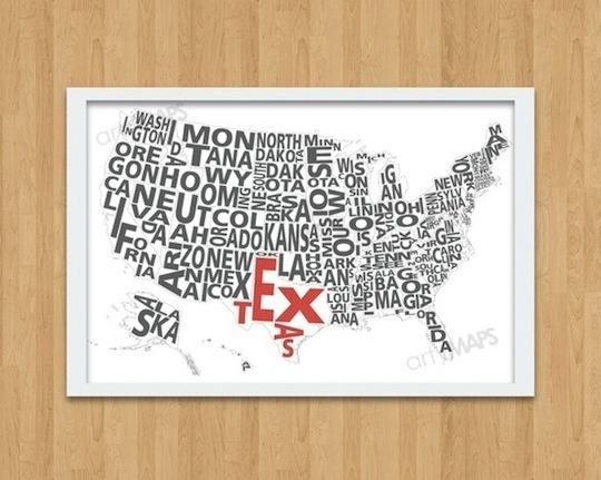 Neat USA Map