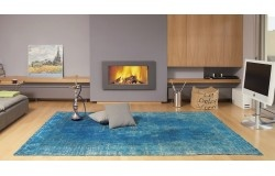 Turquoise Vintage carpet