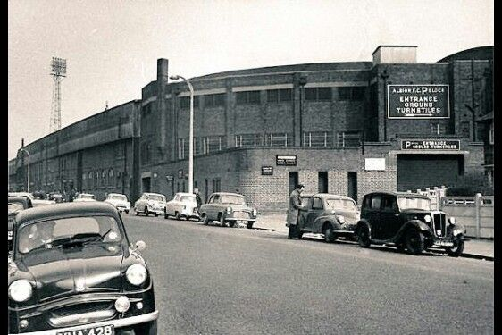 Outside The Hawthorns, 1950's