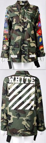 Patch Army Jacket
