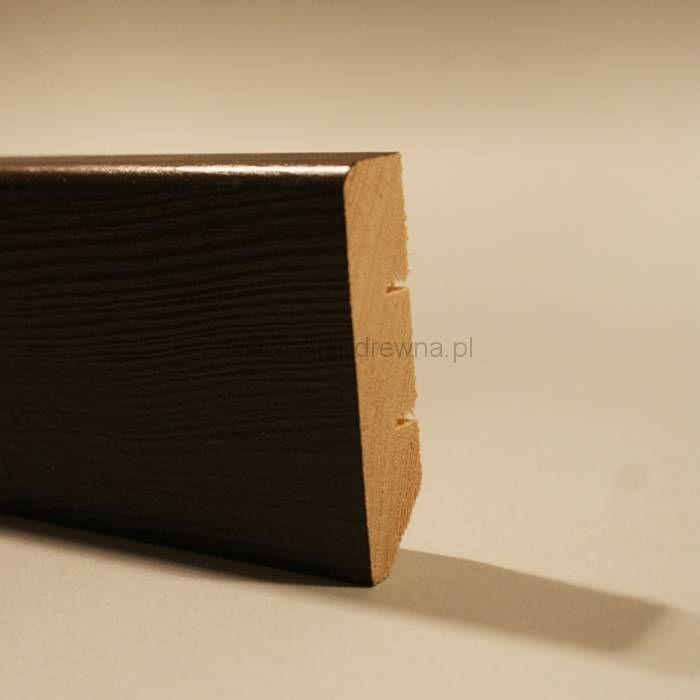 Listwa przypodłogowa cokół brązowy 1,8x7cm Sklep Drewna