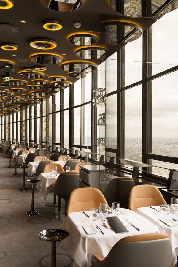 Noé Duchaufour Lawrance Has Designed A Soft And Profound Amber Bubble Of  Light On The Floor Of The Montparnasse Tower: The New Ciel De Paris  Restaurant ... Awesome Design