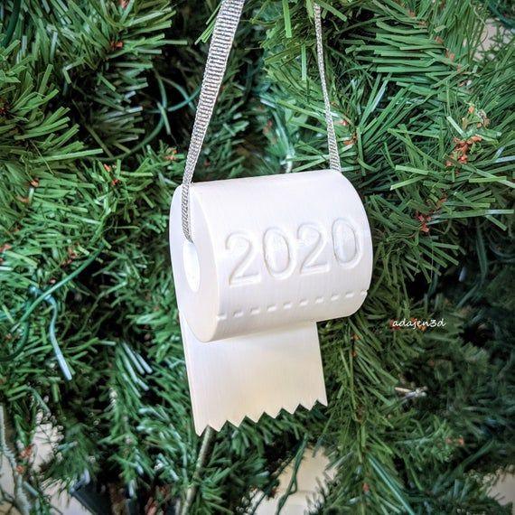 Christmas Ornament Toilet Paper Ornament 2020 Christmas Etsy In 2020 Paper Ornaments Christmas Ornaments Paper Christmas Ornaments
