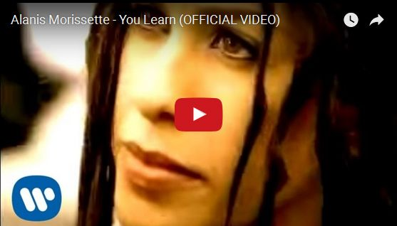 Watch: Alanis Morissette - You Learn See lyrics here: http://alanismorissette-lyrics.blogspot.com/2010/06/you-learn-lyrics-alanis-morissette.html #lyricsdome