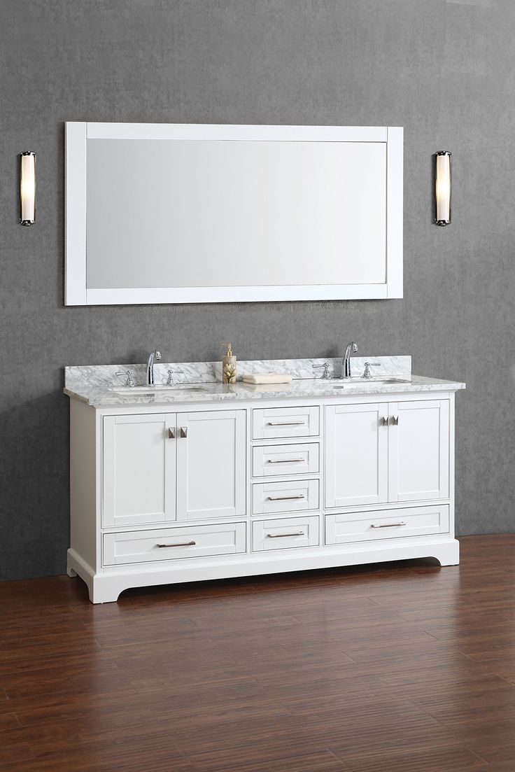 17 Best Ideas About 72 Inch Bathroom Vanity On Pinterest Double .