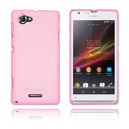 Simple (Pink) Sony Xperia L Cover