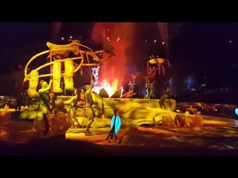 Cirque du Soleil Toruk Full Show From Front Row ACC - Toronto Jan, 09 20...