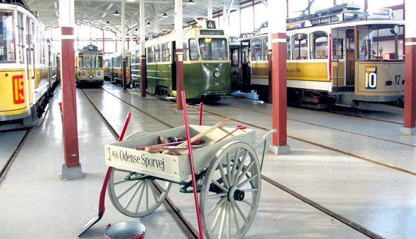 Sporvejsmuseet er et af verdens fem bedste, når det gælder samlingen af sporvogne og busser.