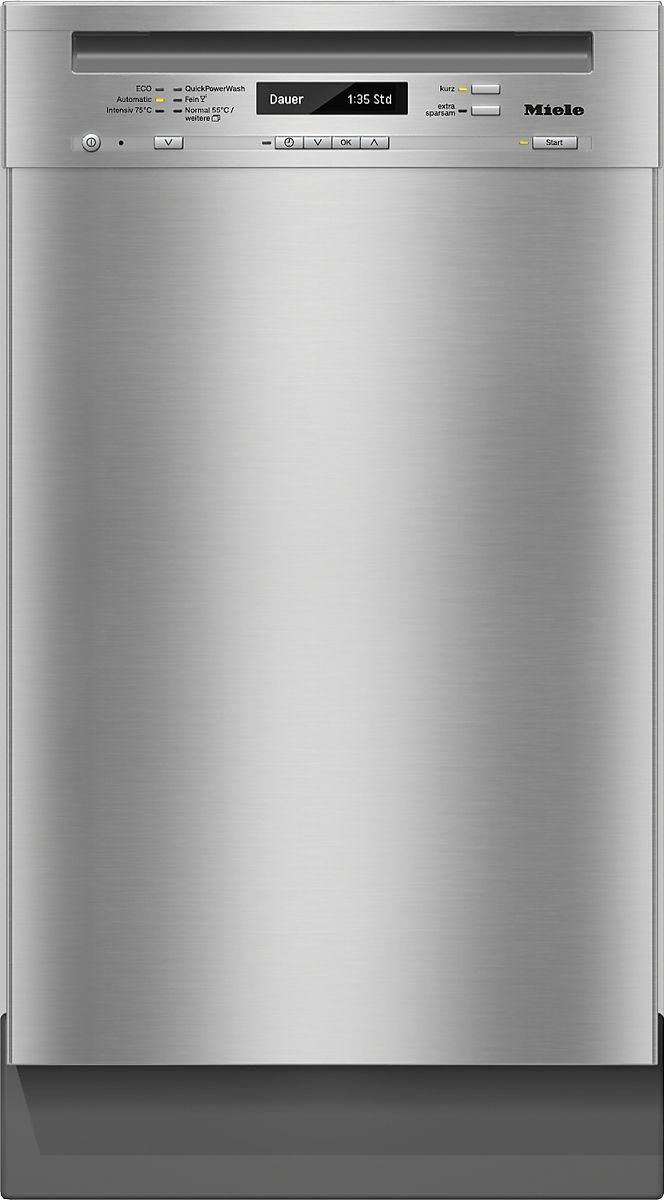 G 4820 SCU - Unterbau-Geschirrspüler Kostenersparnis dank Energieeffizienzklasse A+++ und AutoOpen-Trocknung.--Edelstahl/CleanSteel