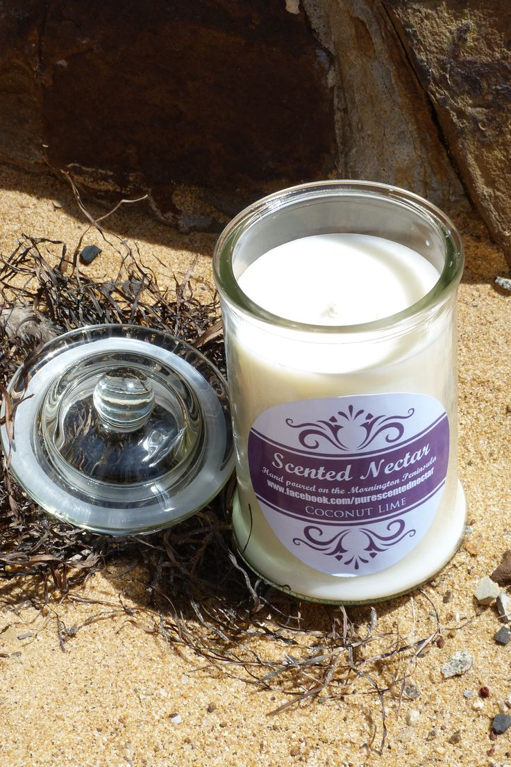 Our divine, large candles. Burn over 70 hours with amazing scent throw!