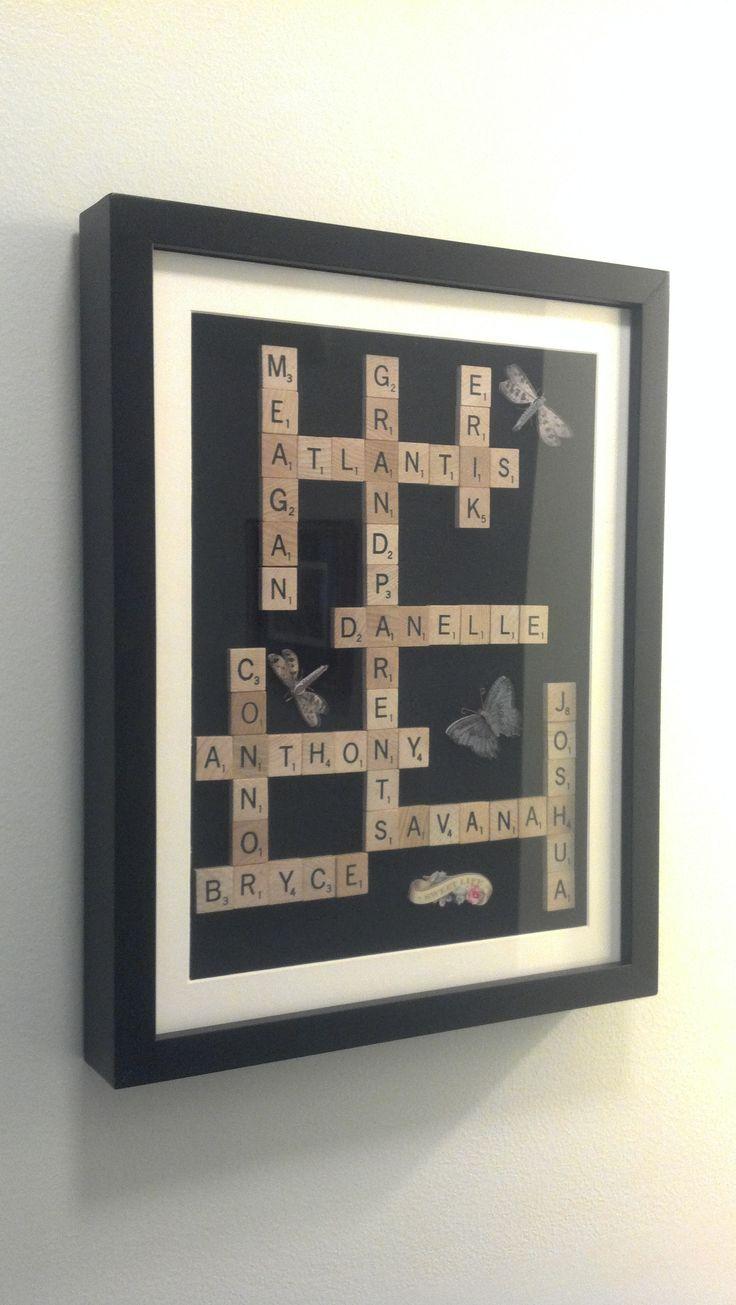 Scrabble Names Wall Art Best 20 Scrabble Wall Art Ideas On Pinterest Scrabble Wall