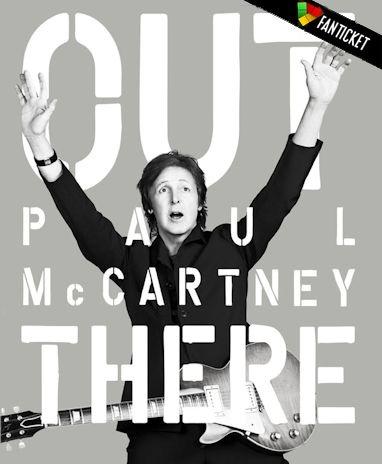 """Paul McCartney - Out There Tour - Sir Paul realizza finalmente il suo desiderio di suonare all'Arena di Verona, una struttura che lo affascina per storia e cultura! Nel suo nuovo tour """"Out There"""" eseguirà canzoni dei Beatles oltre a spaziare nella suo ampio repertorio, sia artista solista che come membro dei Wings. Acquista online con corriere e riceverai un Fan Ticket personalizzato dal design unico! Può rappresentare il ricordo più bello di un evento live ed è anche una perfetta idea…"""