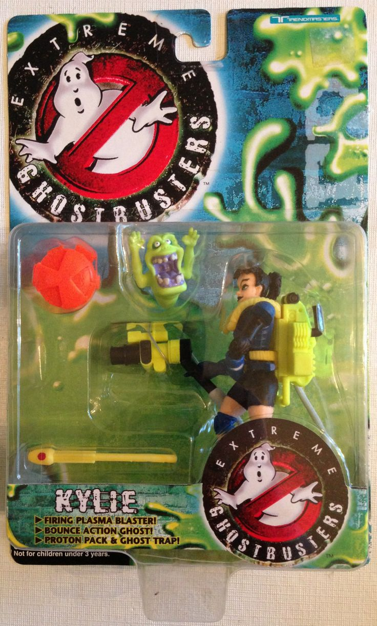 1997 Trendmasters Extreme Ghostbusters Kylie Action Figure