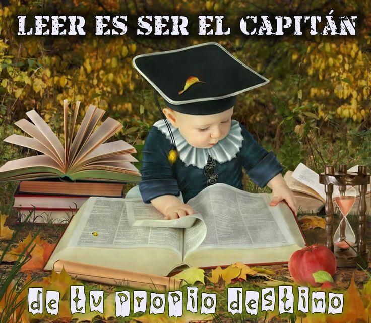 leer es ser el capitán de tu destino