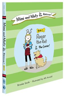 Mimi + Maty to the Rescue:: my little guy's favorite book!