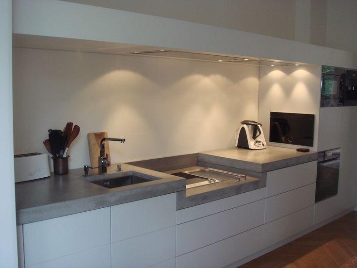 Harr-Beton-Design  Küche Werder + KITCHENS + Pinterest - k chenarbeitsplatten aus beton