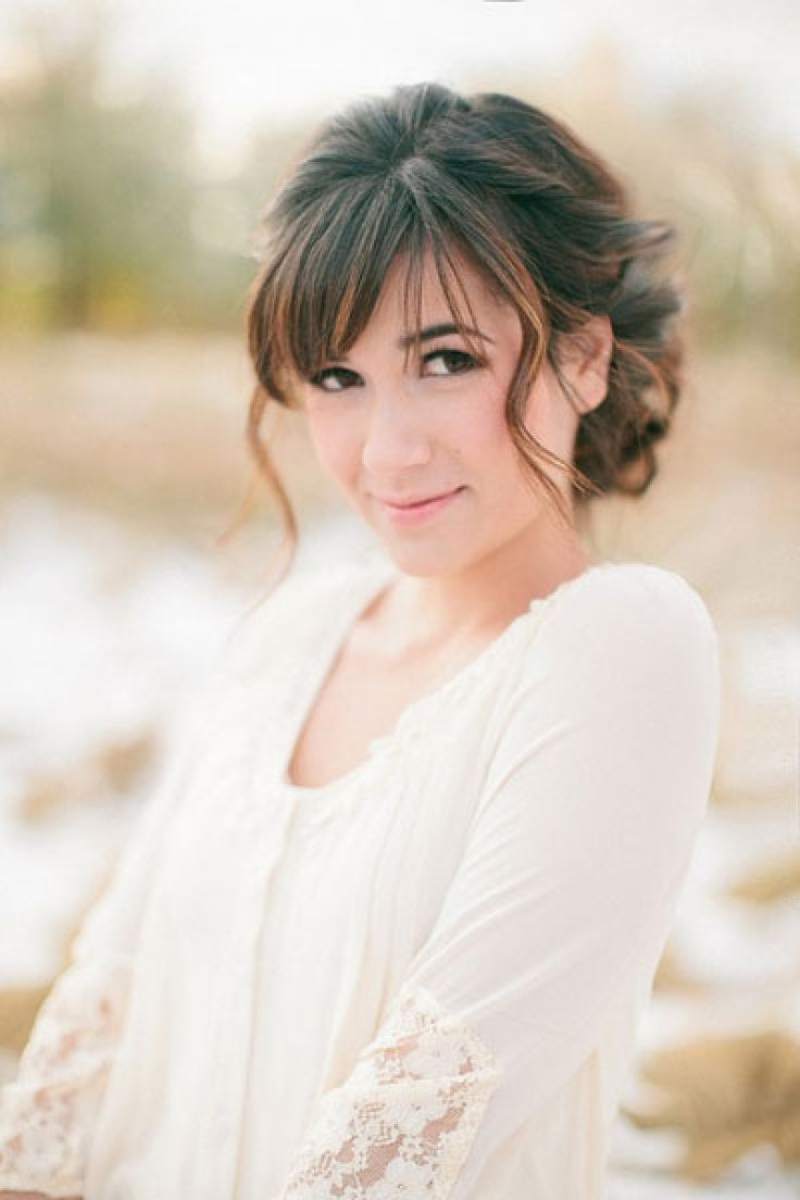 102 best Wedding Hair images on Pinterest   Bridal hairstyles, Bride ...