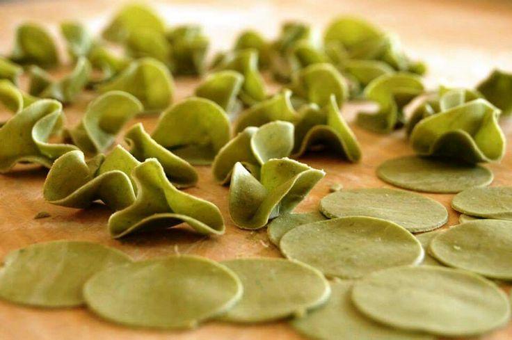 Pasta Trifoglio - creazione esclusiva  Autorska pasta koniczynki  Clover pasta - exclusive form