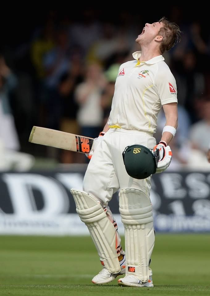 The Ashes 2nd Test 2015 .. 1st innings Steve Smith 100!