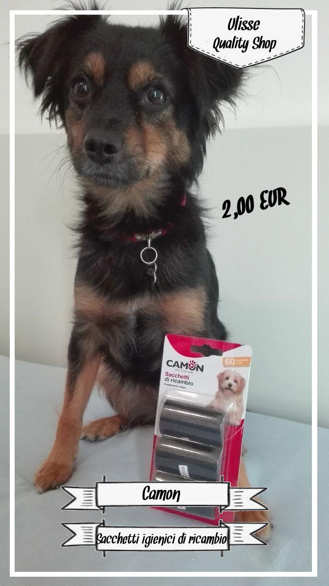 Sacchetti igienici per il tuo cane, comodi da trasportare e da usare quando il tuo cane sporca.