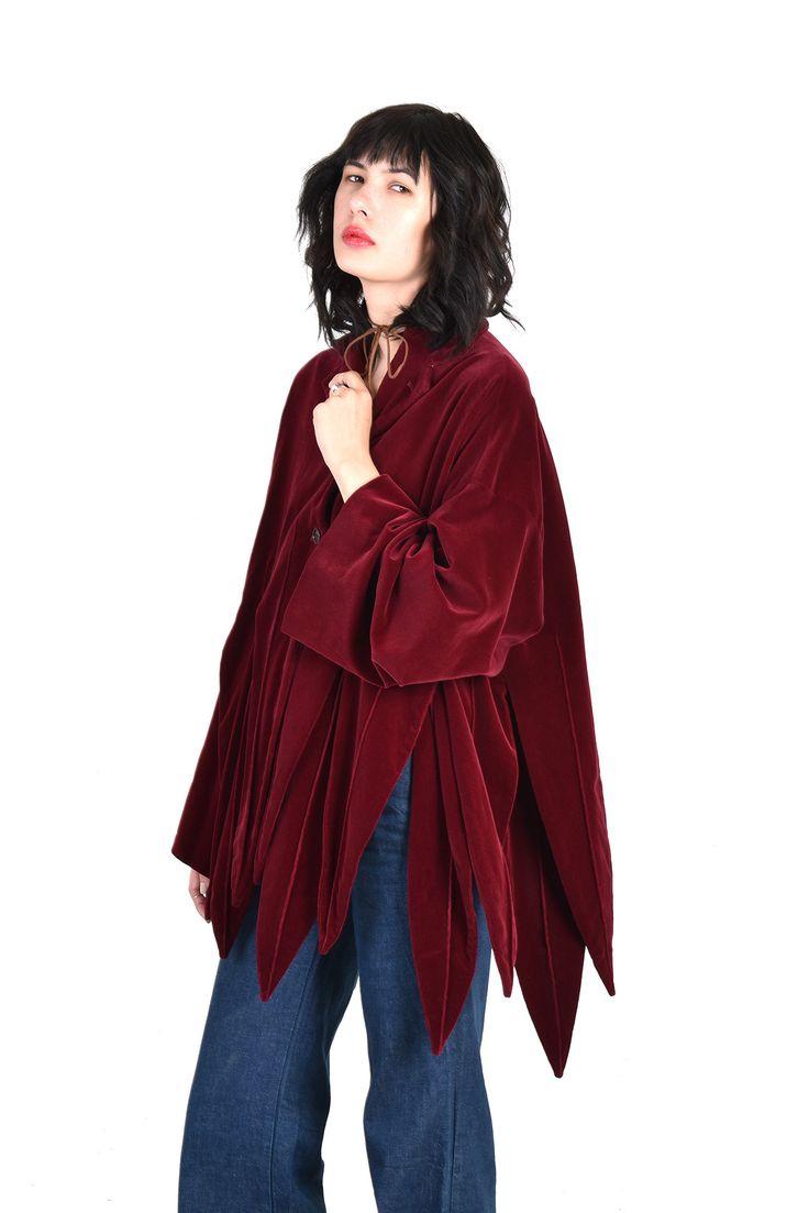 romeo-gigli-burgundy-velvet-jester-petal-coat-