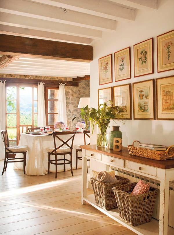 """""""A vidéki otthon"""": Country living.."""