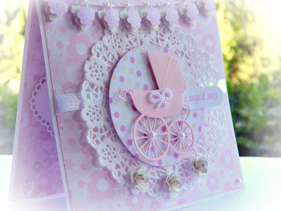 RL Design - Invitatii si felicitari Handmade : Felicitare Handmade pentru Bebe - Baby Card